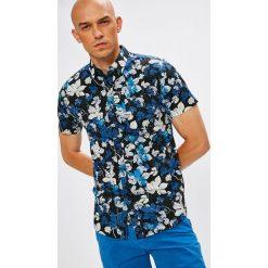 Medicine - Koszula Desert Island. Szare koszule męskie na spinki marki S.Oliver, l, z bawełny, z włoskim kołnierzykiem, z długim rękawem. W wyprzedaży za 39,90 zł.