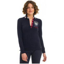 Galvanni Koszulka Polo Damska Reunion S Ciemny Niebieski. Niebieskie bluzki asymetryczne GALVANNI, m, polo. W wyprzedaży za 279,00 zł.