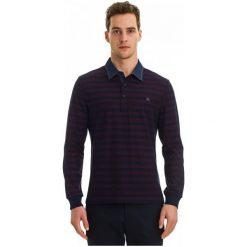 Galvanni Koszulka Polo Męska Labor M Burgund. Czerwone koszulki polo marki GALVANNI, m, w paski. W wyprzedaży za 189,00 zł.