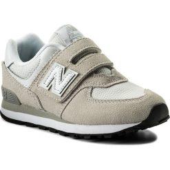 Trampki chłopięce: Sneakersy NEW BALANCE – YV574GW Beżowy