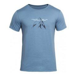 Odzież termoaktywna męska: Devold Męska Koszulka Nipa Tee Błękitny S