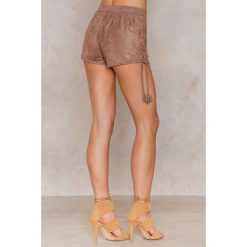 Bermudy damskie: Sally & Circle Szorty Louisiana – Brown,Beige