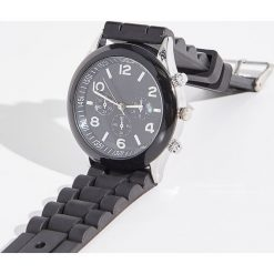 Zegarek - Czarny. Czarne zegarki damskie marki Sinsay. Za 29,99 zł.