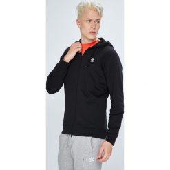 Adidas Originals - Bluza. Szare bluzy męskie rozpinane adidas Originals, l, z nadrukiem, z bawełny, z kapturem. W wyprzedaży za 259,90 zł.