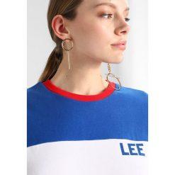 Bluzy damskie: Lee COLOUR BLOCK  Bluza white