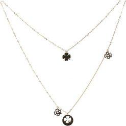Biżuteria i zegarki damskie: Złoty Naszyjnik Hold You Down