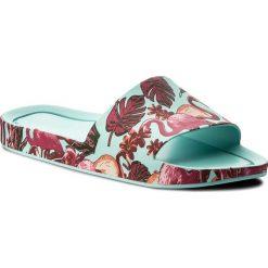 Chodaki damskie: Klapki MELISSA - Beach Slide 3DB Rainbo 32389 Green/Pink 52228