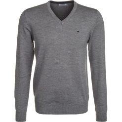 Swetry klasyczne męskie: J.LINDEBERG LYMANN Sweter grey melange