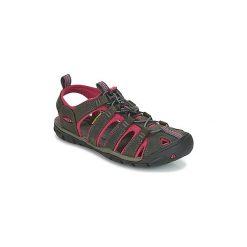 Sandały sportowe Keen  CLEARWATER CNX LEATHER. Czarne sandały trekkingowe damskie marki Keen. Za 335,30 zł.