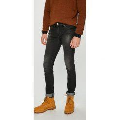 Armani Exchange - Jeansy. Czarne jeansy męskie skinny marki Armani Exchange, l, z materiału, z kapturem. Za 569,90 zł.