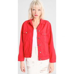 Bomberki damskie: Gina Tricot ROSE JACKET Kurtka jeansowa red