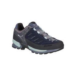 Buty sportowe damskie: Salewa Buty damskie WS MTN Trainer Premium Navy/Subtle Green r. 40.5