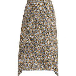 NORR TEENA SKIRT Spódnica trapezowa yellow. Żółte spódniczki trapezowe NORR, l, z materiału. Za 499,00 zł.