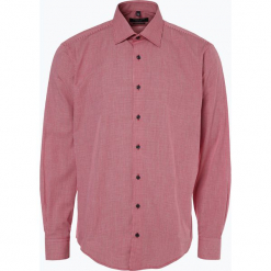 Andrew James - Koszula męska łatwa w prasowaniu, czerwony. Białe koszule męskie na spinki marki bonprix, z klasycznym kołnierzykiem. Za 99,95 zł.