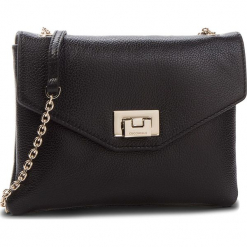 Torebka COCCINELLE - CV5 Mini Bag E5 CV3 55 E5 Noir 001. Czarne torebki klasyczne damskie marki Coccinelle, ze skóry. Za 699,90 zł.