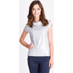 Bluzki asymetryczne: Bluzka ze srebrnym połyskiem QUIOSQUE