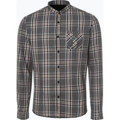 Drykorn - Koszula męska – Keez, szary. Niebieskie koszule męskie marki DRYKORN, m, z dekoltem karo. Za 349,95 zł.