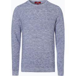 Swetry męskie: Finshley & Harding London - Sweter męski, niebieski