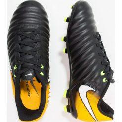 Buty sportowe chłopięce: Nike Performance TIEMPO LIGERA IV FG Korki Lanki black/white/laser orange/volt