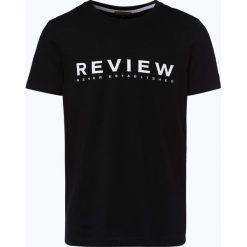 Review - T-shirt męski, czarny. Niebieskie t-shirty męskie marki Review. Za 39,95 zł.