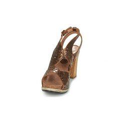 Sandały Felmini  BRONZALI. Brązowe rzymianki damskie Felmini. Za 351,20 zł.