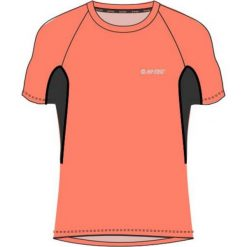 Bluzki sportowe damskie: Hi-tec Koszulka Sportowa Damska Redan Fresh Salmon/Blue Graphite r. L