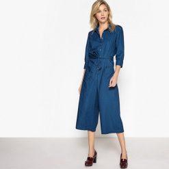 Kombinezony damskie: Kombinezon spodnie z denimu