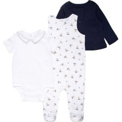 Pajacyki niemowlęce: Polo Ralph Lauren BOY BEAR BABY SET Body white/blue/multicolor