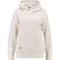 Bluzy rozpinane damskie: Ragwear Plus CHELSEA HEARTS PLUS Bluza z kapturem beige melange