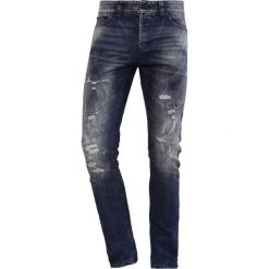 Spodnie męskie: Only & Sons ONSLOOM  Jeans Skinny Fit dark blue denim