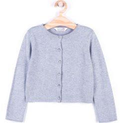 Coccodrillo - Sweter dziecięcy 92-122 cm. Szare swetry dziewczęce marki Mohito, l. Za 69,90 zł.