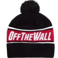 Czapka VANS - Off The Wall Po VN0A2YR7A2T Black/Chili 726. Czarne czapki zimowe damskie Vans, z elastanu. Za 99,00 zł.