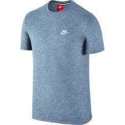 Nike Koszulka męska NSW LEGACY TOP KNT niebieska r. M (822570-436-S). Niebieskie koszulki sportowe męskie Nike, m. Za 154,59 zł.