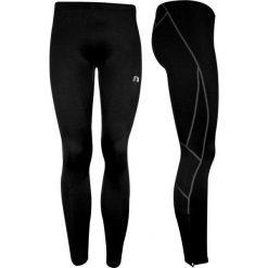 Spodnie dresowe damskie: Newline  Długie kompresyjne spodnie unisex r. XL czarne – 14444-XL