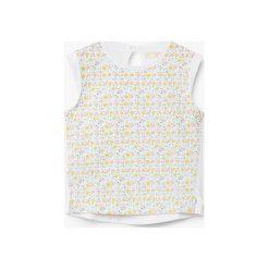 Mango Kids - Top dziecięcy Lucy 80-104 cm. Szare bluzki dziewczęce marki Mango Kids, z bawełny, z okrągłym kołnierzem, bez rękawów. W wyprzedaży za 12,90 zł.