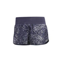Szorty i Bermudy  adidas  Szorty Supernova Glide Print. Szare bermudy damskie marki Adidas, l, z dresówki, na jogę i pilates. Za 169,00 zł.
