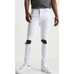 Liquor N Poker RIP KNEE Jeans Skinny Fit white. Niebieskie rurki męskie marki Tiffosi. Za 239,00 zł.