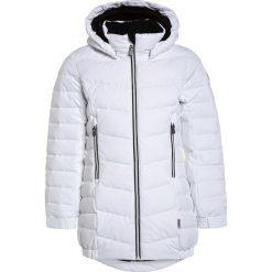 Reima JUURI Płaszcz puchowy white. Niebieskie kurtki chłopięce marki Reima, z materiału. W wyprzedaży za 411,75 zł.