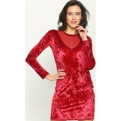 Sukienki hiszpanki: Czerwona Sukienka Light As The Breeze