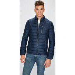 Guess Jeans - Kurtka. Szare kurtki męskie jeansowe Guess Jeans, l, z aplikacjami. Za 599,90 zł.