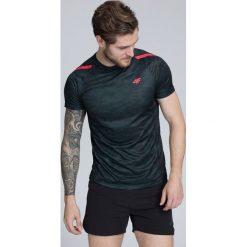 Odzież termoaktywna męska: Koszulka treningowa męska TSMF258 - GŁĘBOKA CZERŃ