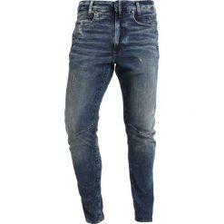 GStar DSTAQ 3D SKINNY Jeans Skinny Fit medium aged antic destroy. Niebieskie rurki męskie marki G-Star, z bawełny. Za 749,00 zł.