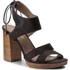 Rzymianki damskie: Sandały ANN MEX – 8038 20C Czarny