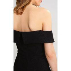 Bardot BELLA Kombinezon black. Czarne kombinezony damskie marki Bardot, m, z elastanu. W wyprzedaży za 367,20 zł.