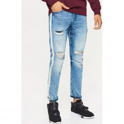 Jeansy COMFORT - Niebieski. Niebieskie jeansy męskie Cropp. Za 129,99 zł.