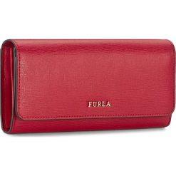Duży Portfel Damski FURLA - Babylon 871071 P PS12 B30 Ruby. Czerwone portfele damskie marki Furla, ze skóry. Za 675,00 zł.