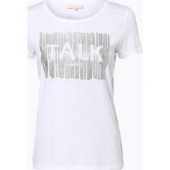 T-shirty damskie: talk about – T-shirt damski, czarny