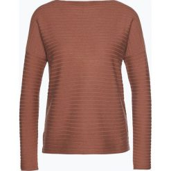 Swetry klasyczne damskie: Apriori - Sweter damski z mieszanki kaszmiru i wełny merino, czerwony