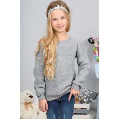 Szary Sweter Dziecięcy NDZ36122. Białe swetry dziewczęce marki Reserved, l. Za 44,25 zł.