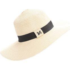 Beżowy Kapelusz Yellow Meadow. Białe kapelusze damskie marki Born2be, na lato. Za 39,99 zł.